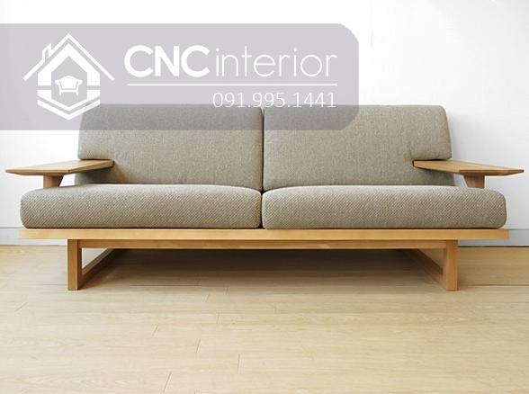 Sofa go don gian CNC 201