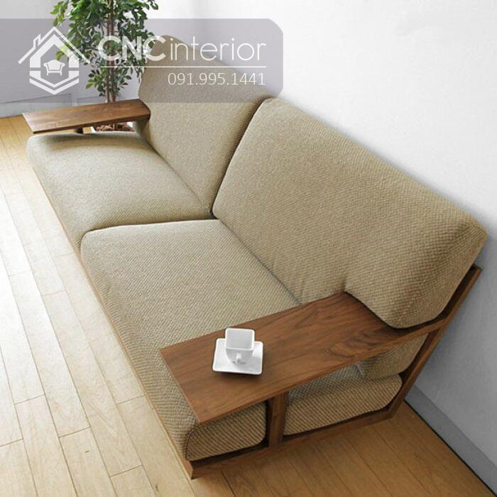 Sofa go don gian CNC 203