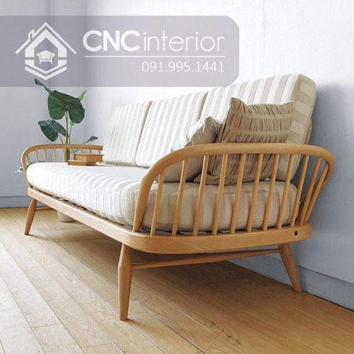 Sofa go don gian CNC 221