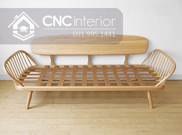 Sofa go don gian CNC 222