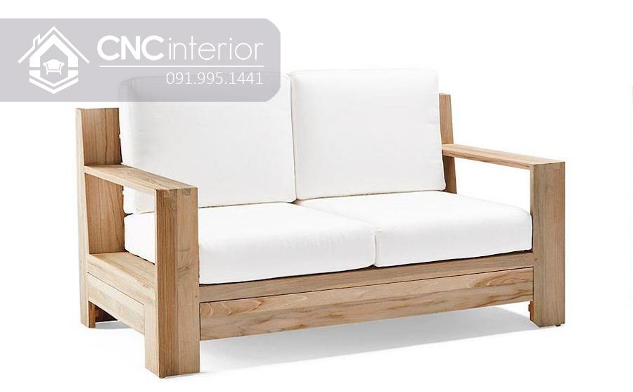 Ghế sofa đơn giản bằng gỗ CNC 23 2