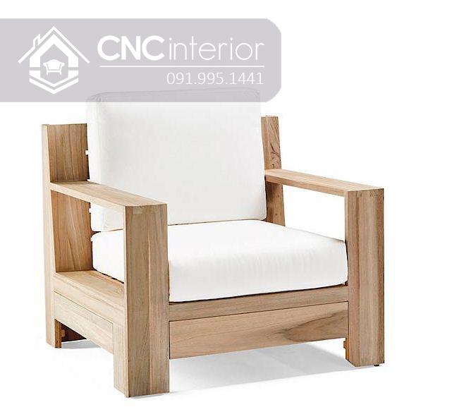 Sofa go don gian CNC 233