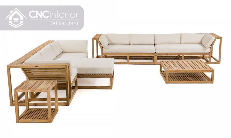 Sofa go don gian CNC 24