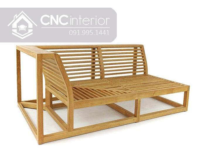 Sofa go don gian CNC 242