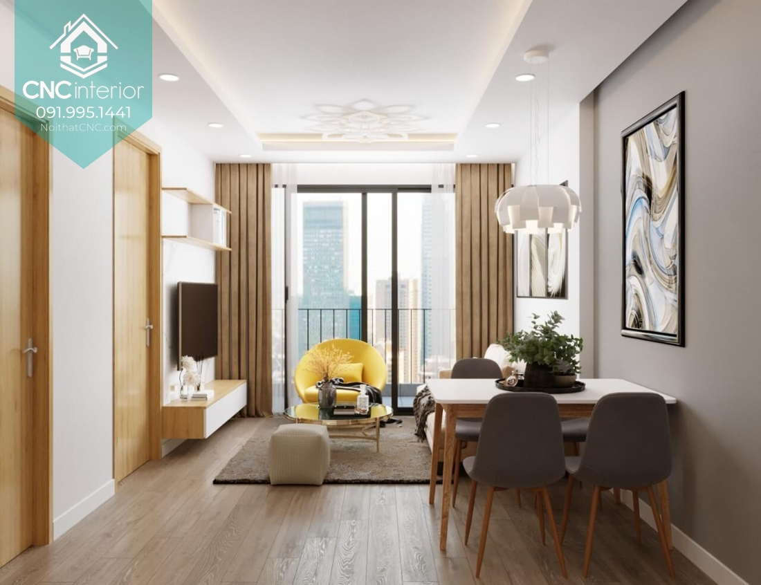 Thiết kế nội thất chung cư giá rẻ mà đẹp 3