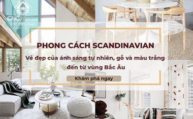 PHONG CÁCH NỘI THẤT BẮC ÂU –  VẺ ĐẸP ĐẶC TRƯNG CỦA VÙNG SCANDINAVIAN