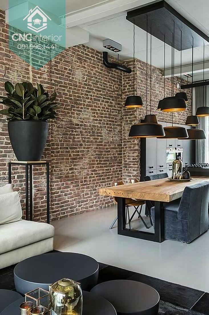 Phong cách công nghiệp trong thiết kế nội thất