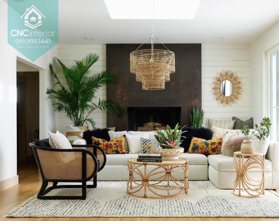 Phong cách nội thất tropical 3