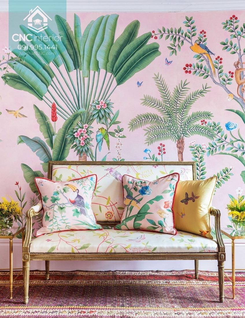 Phong cách tropical trong nội thất 2