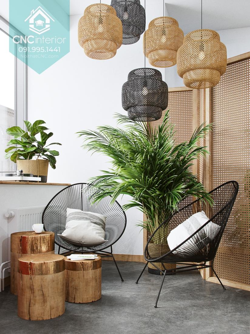 Phong cách nội thất tropical 1