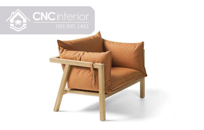 Ghế gỗ sofa đơn giản nhỏ gọn đẹp CNC 27 1