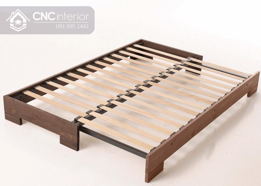 Sofa gỗ chữ I chân thấp đẹp đa năng CNC 32 2
