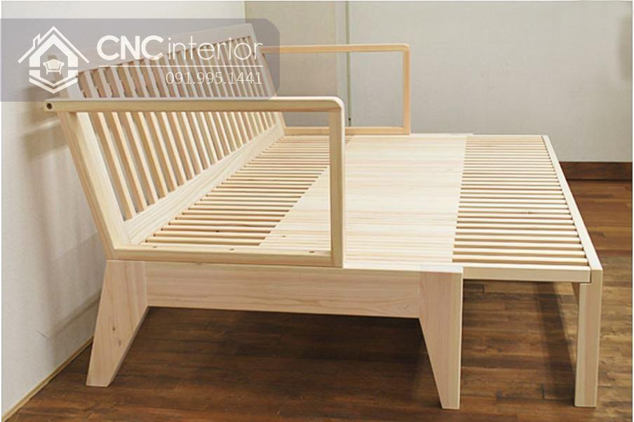 Ghế gỗ sofa đa năng CNC 33 4