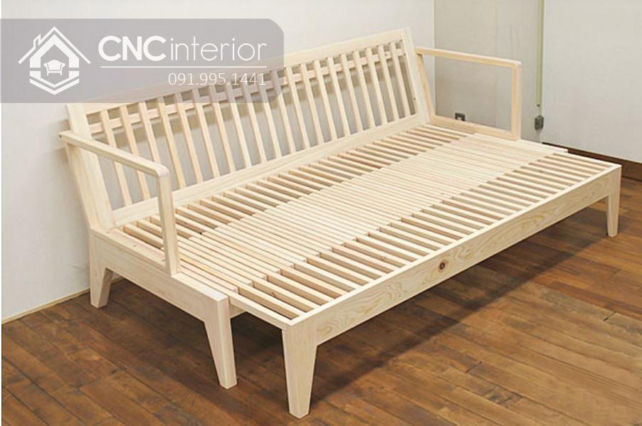 Ghế gỗ sofa đa năng CNC 33 1