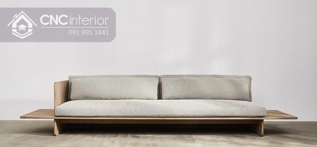 Sofa gỗ chữ I đẹp thu hút CNC 38 1