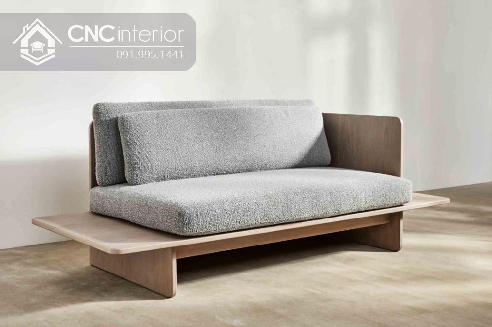 Sofa gỗ chữ I đẹp thu hút CNC 38 3