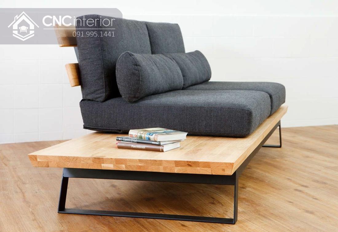 Ghế sofa phòng khách đẹp bắt mắt CNC 41 2