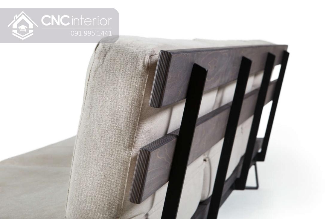 Ghế sofa phòng khách đẹp bắt mắt CNC 41 3