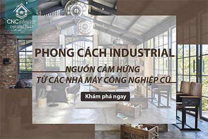 Phong cách Industrial