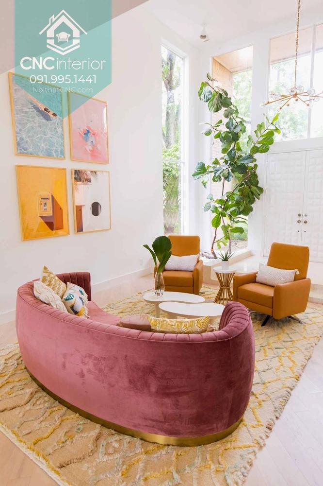 Màu pastel được sử dụng nhiều hơn nhờ sắc thái nhẹ nhàng