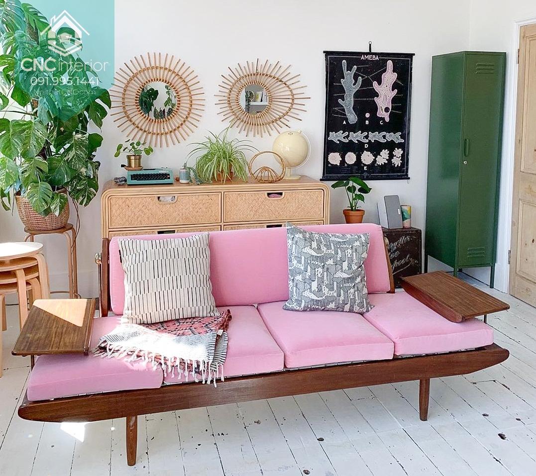 Phong cách retro nội thất 1