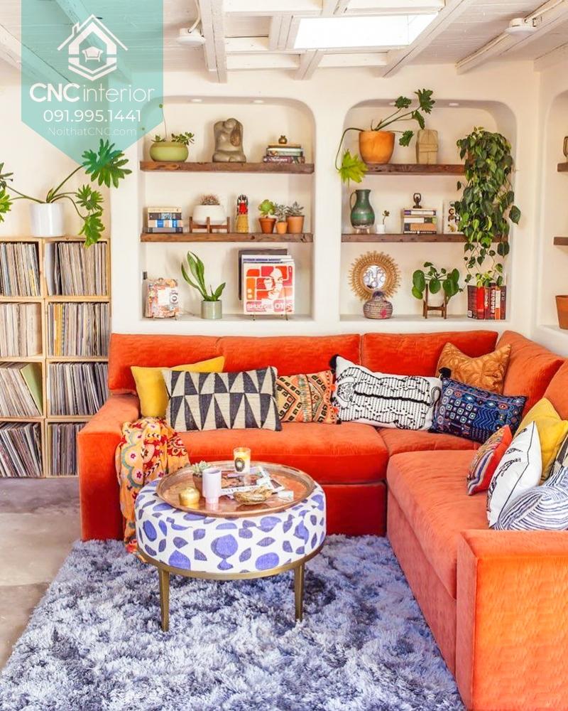 Phong cách thiết kế nội thất retro 4