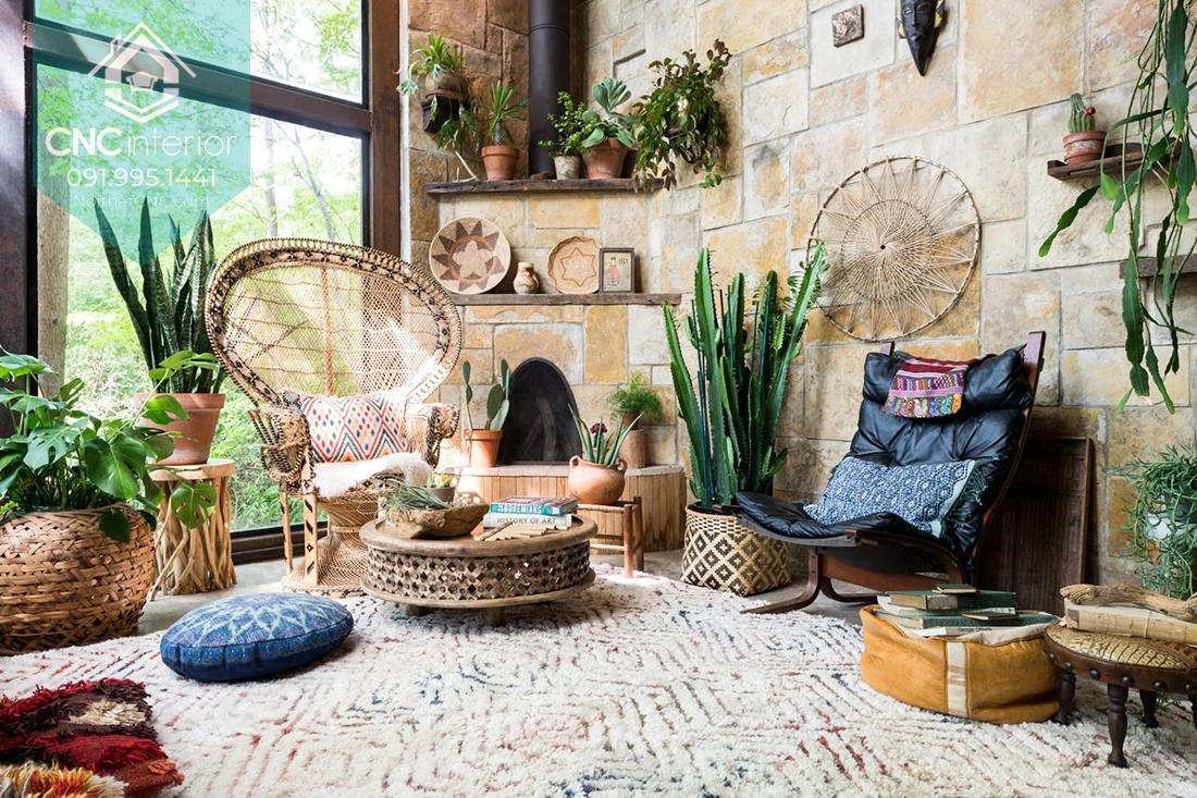 Phong cách Bohemian trong nội thất 3
