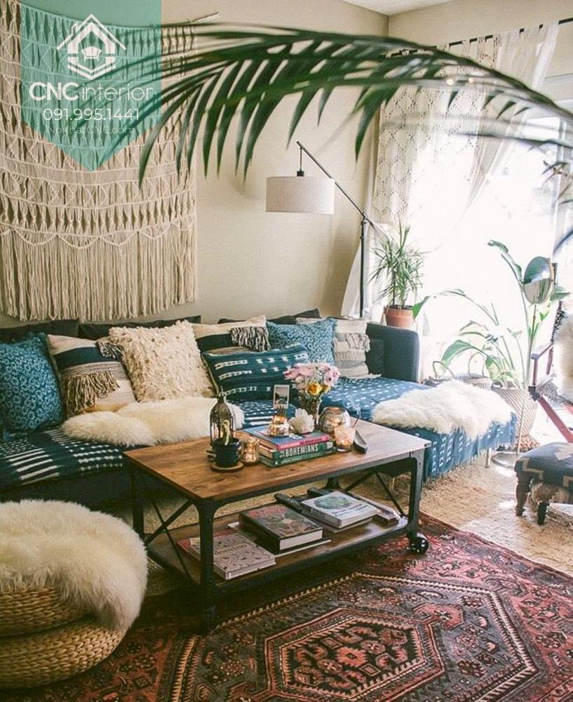Phong cách Bohemian trong nội thất 2