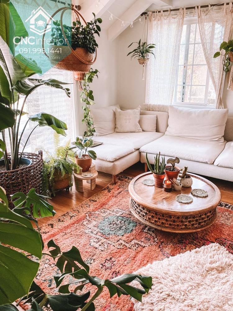 Phong cách Bohemian trong nội thất 4