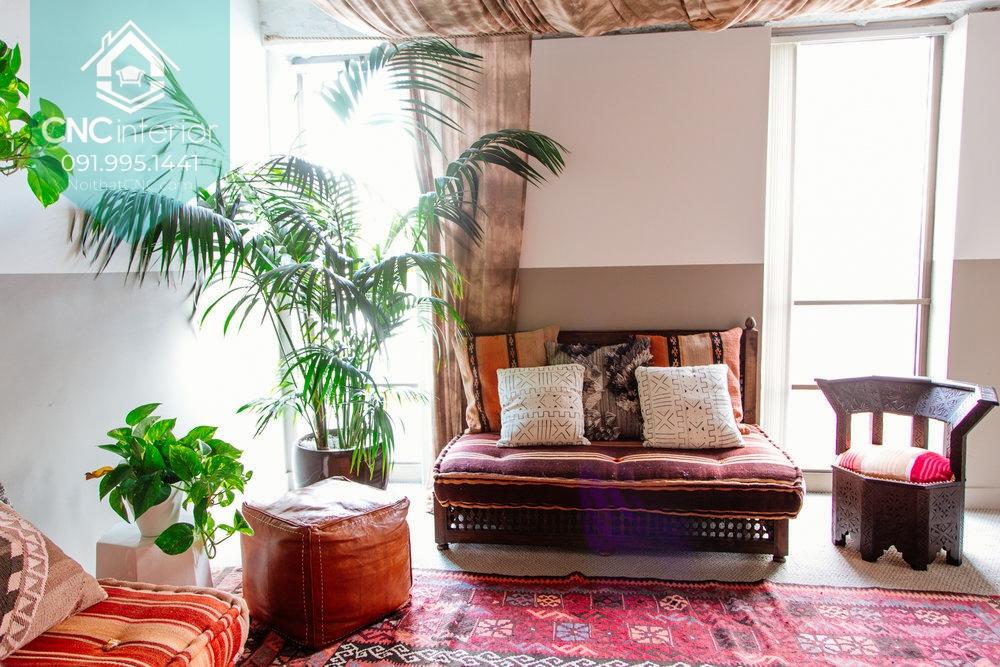 Phong cách nội thất Bohemian 4