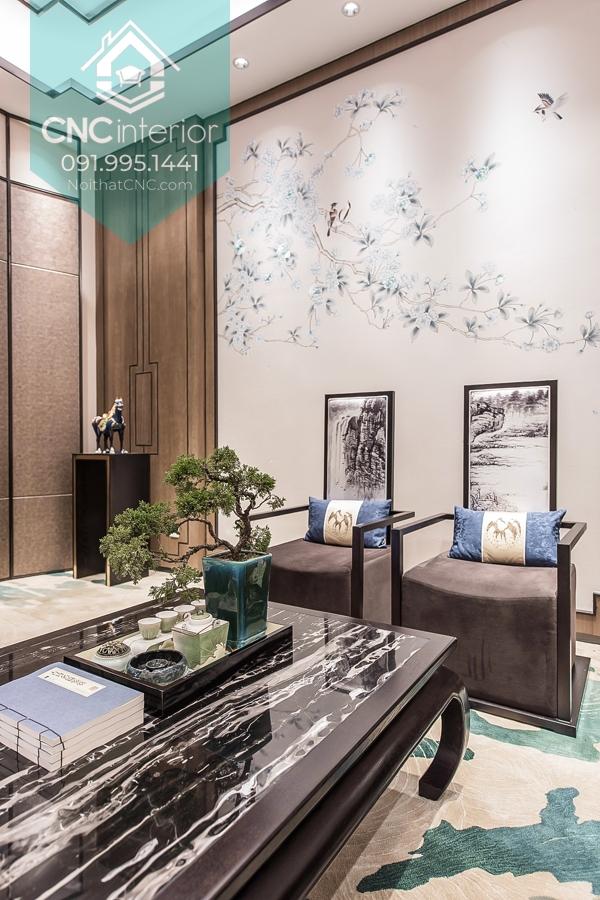 Phong cách nội thất Á Đông 1
