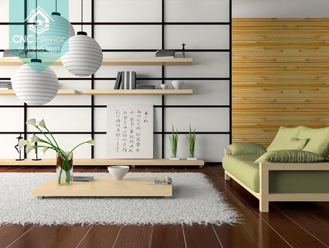 Phong cách nội thất Á Đông