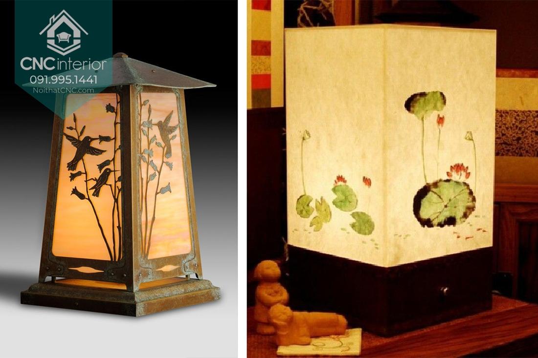 Đèn lồng Hàn Quốc trong phong cách Á Đông mang nét đẹp trang nhã