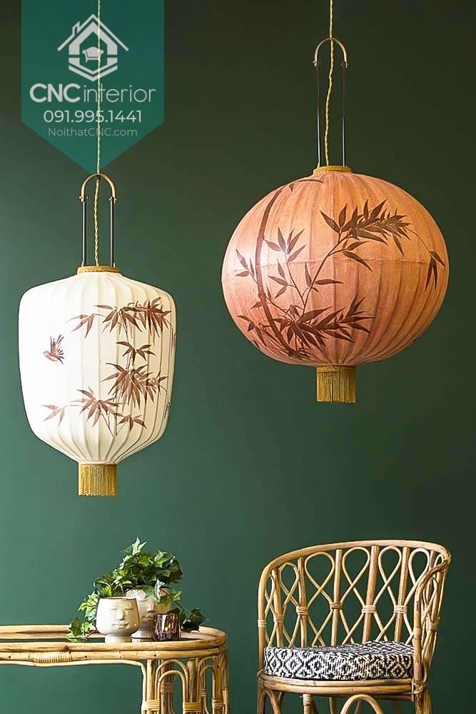 Đèn lồng của Nhật mang đặc trưng đơn giản và tinh tế