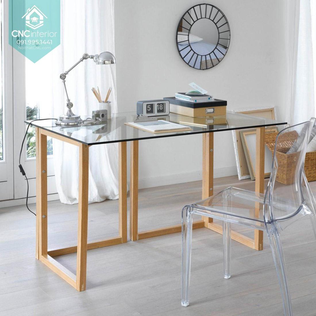 Ý tưởng thiết kế bàn làm việc trẻ trung, năng động