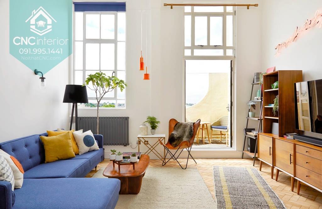 phong cách nội thất Mid Century Modern 1