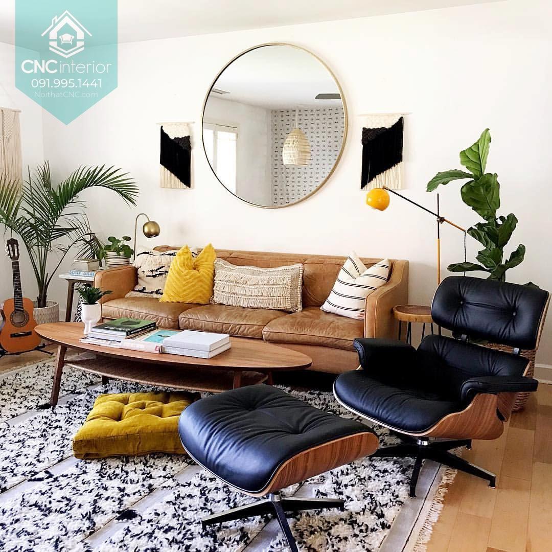 Không gian nhỏ nên bố trí đồ nội thất gọn gàng
