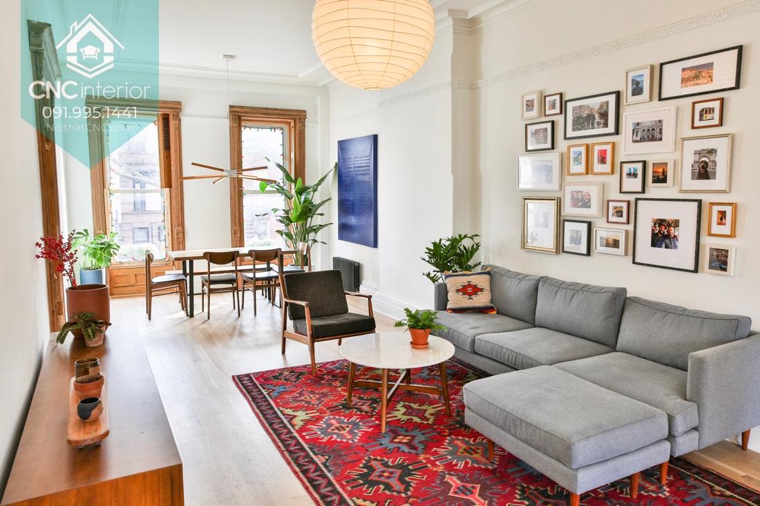 phong cách nội thất Mid Century Modern