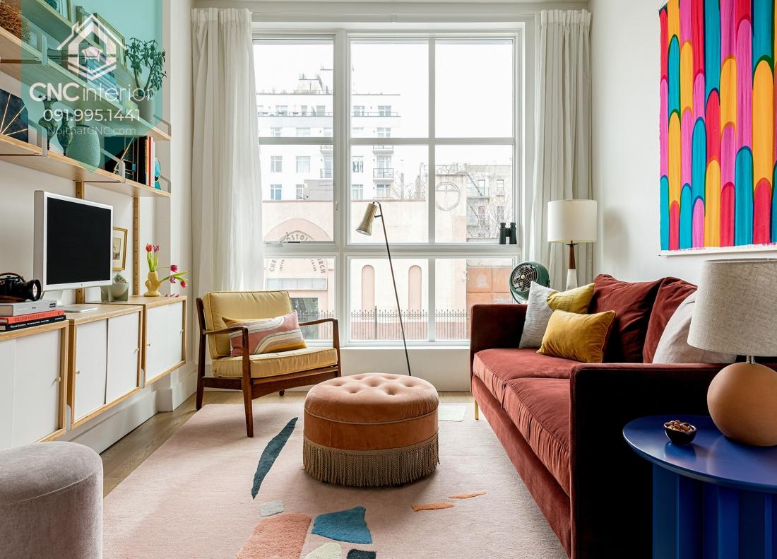 phong cách nội thất Mid Century Modern 3