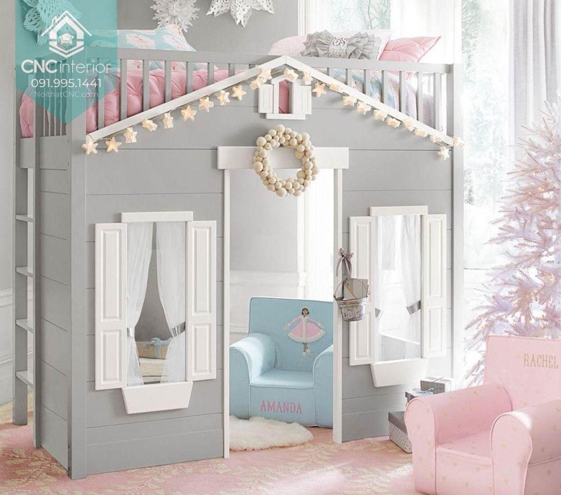 Giường hai tầng công chúa