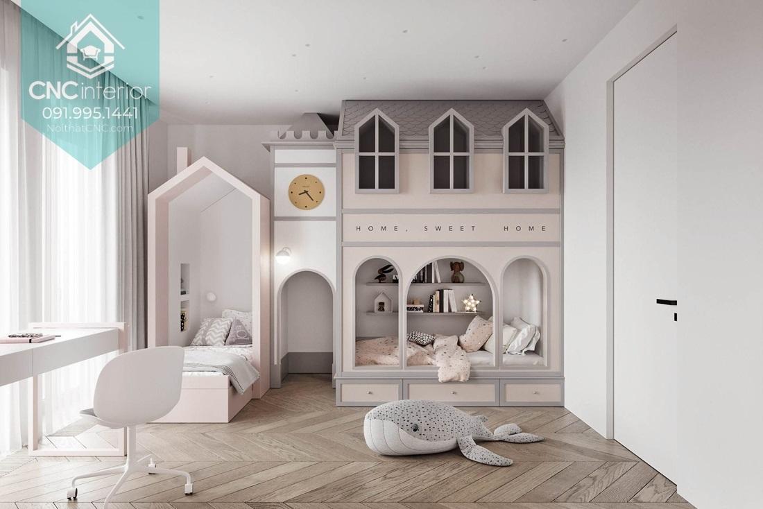 Giường hai tầng công chúa 3