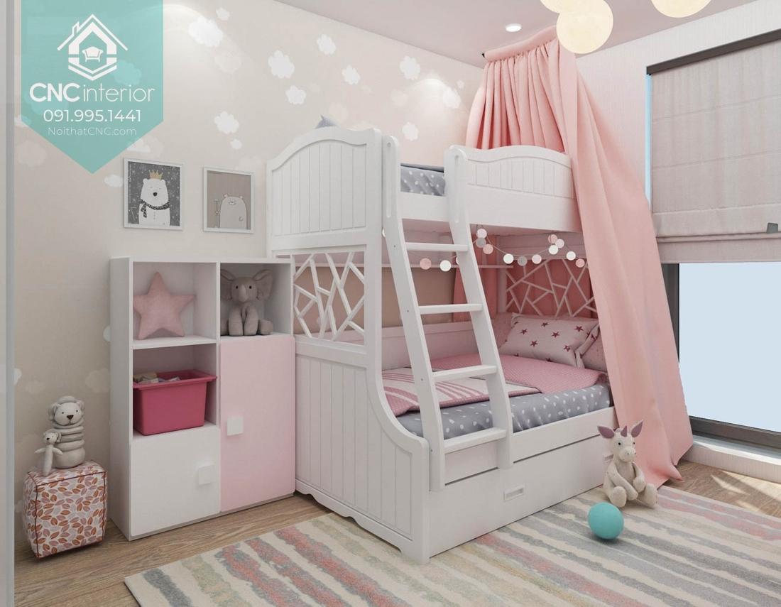 Giường tầng công chúa 2