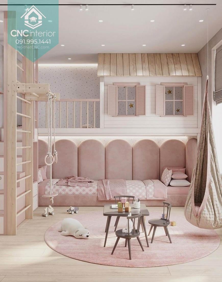 Giường 2 tầng công chúa 1