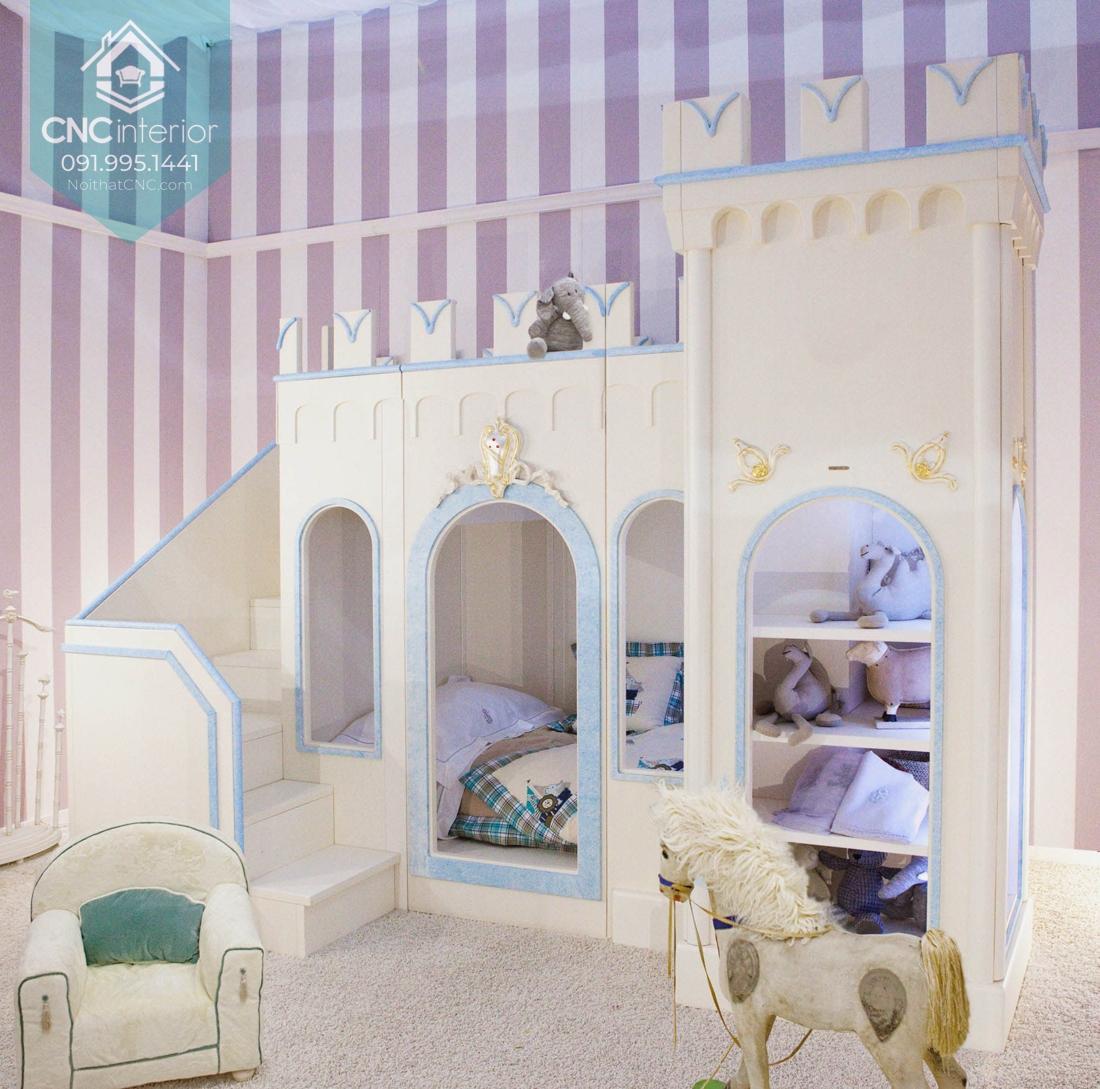 Giường tầng lâu dài công chúa