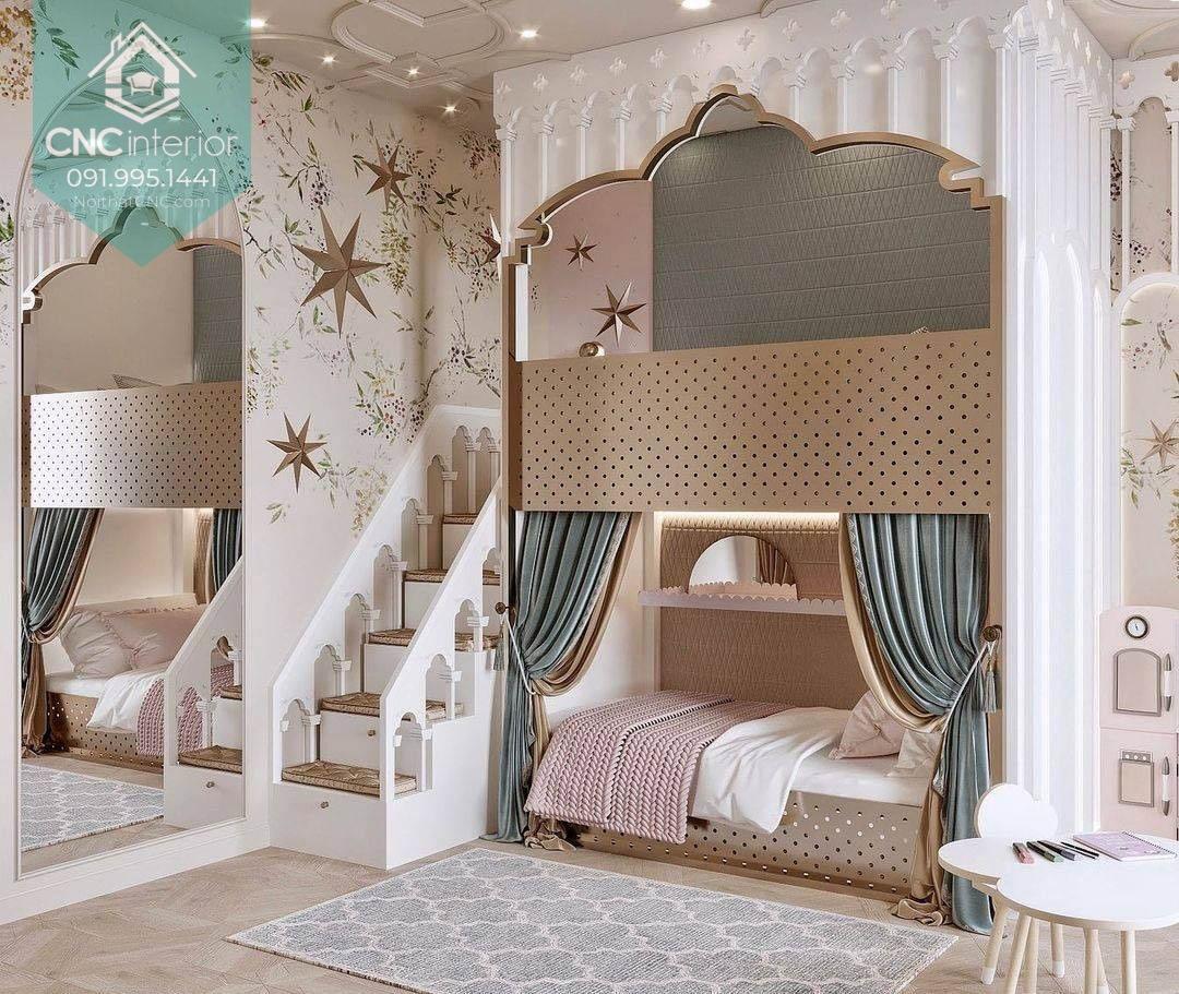 Giường 2 tầng công chúa 3
