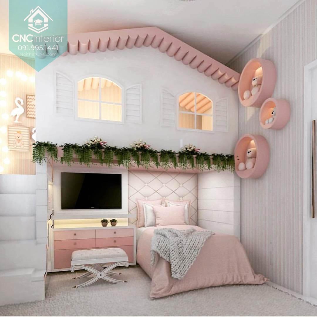 Giường 2 tầng công chúa 4