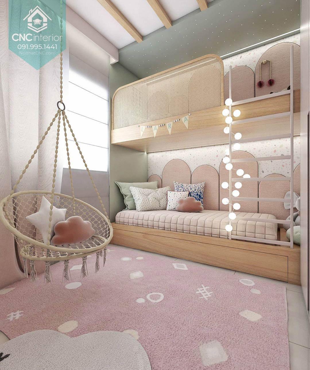 Giường tầng công chúa 3