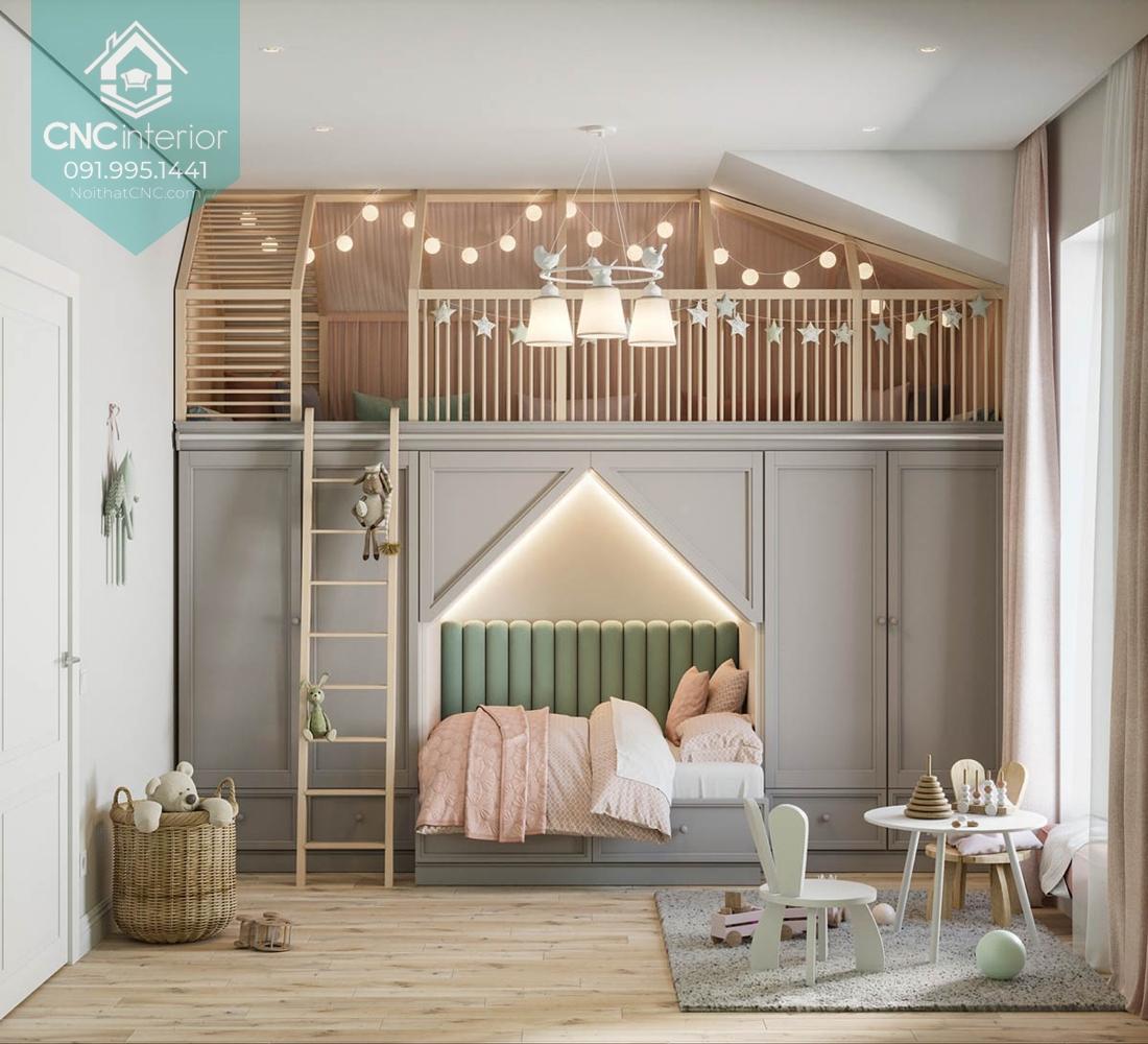 Giường hai tầng công chúa 5