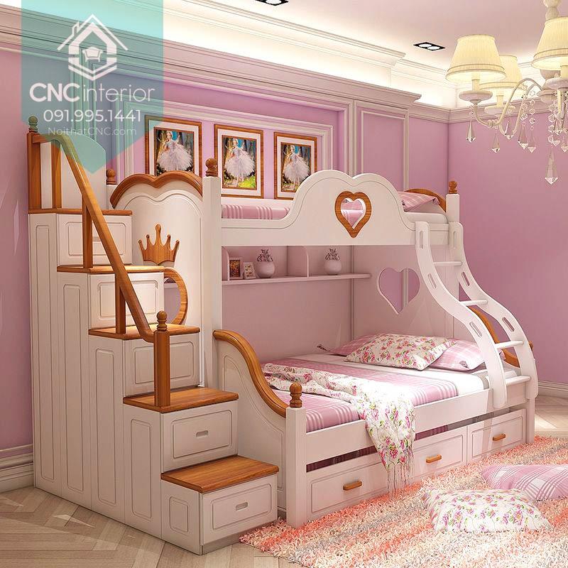 Giường tầng công chúa 6