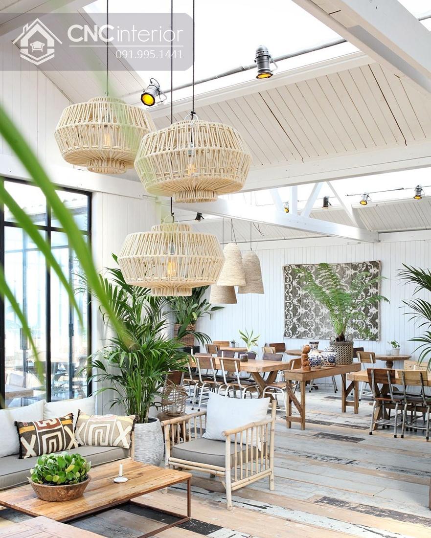 Thiết kế quán cafe Tropical